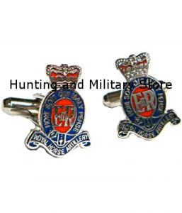 RHA Royal Horse Artillery Regimental Military Cufflinks